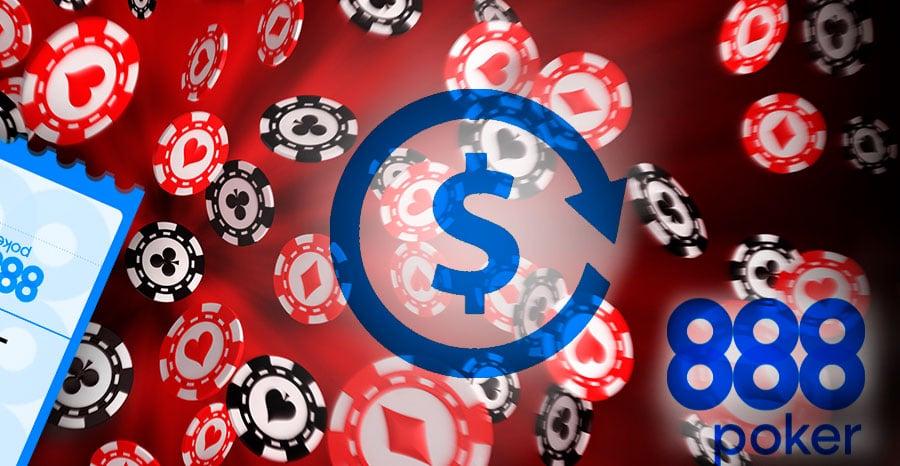 Как получить токены 888 Poker