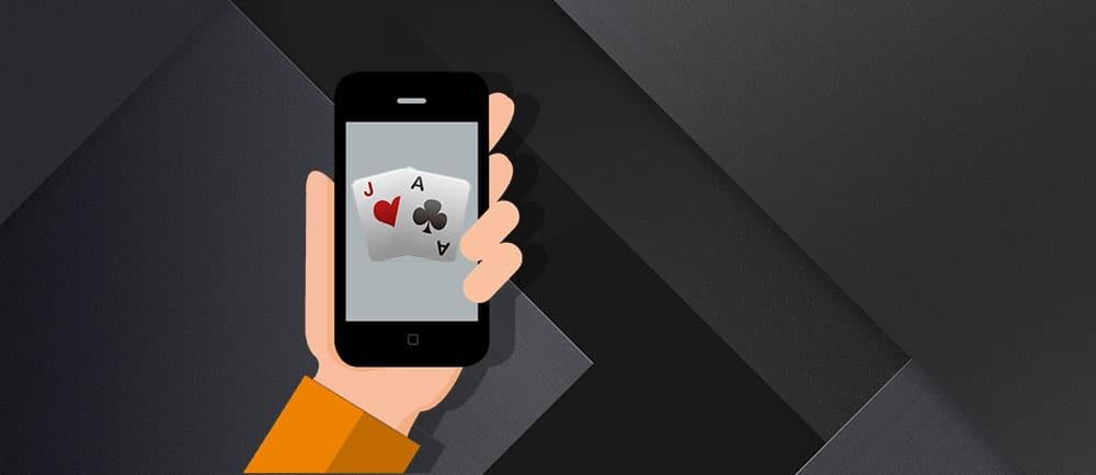 Покер на телефоне