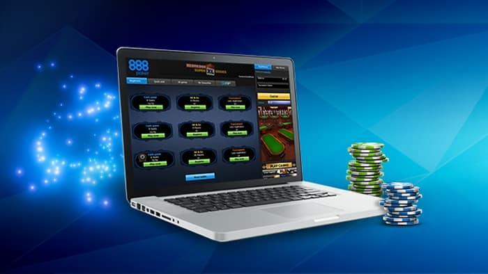 Установка 888 Покер на компьютер